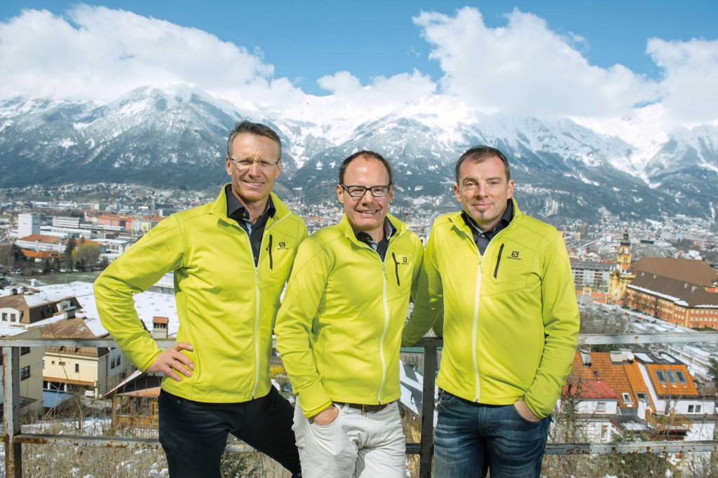 Dr. Hoser, Dr. Gföller, Dr. Fink von Gelenkpunkt