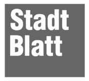 Stadtblatt Innsbruck (b/w)